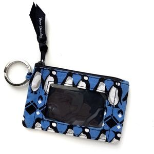 Penguin Coin Purse Card Case Wallet Key Chain